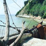 Pantă abruptă la litoralul din Dalboka