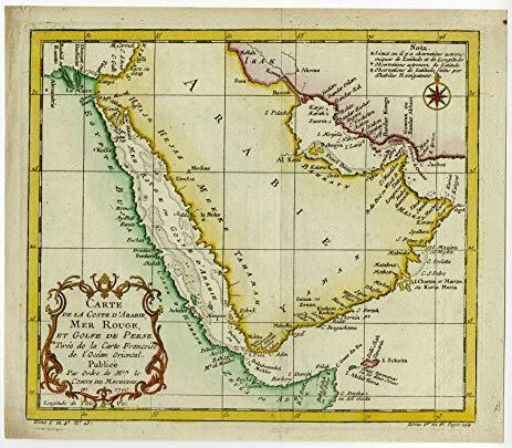 Marea Roșie ~ Istorie, Geografie
