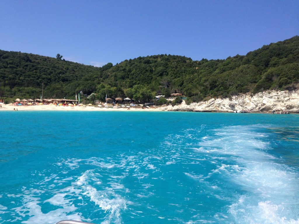 Marea in Antipaxos