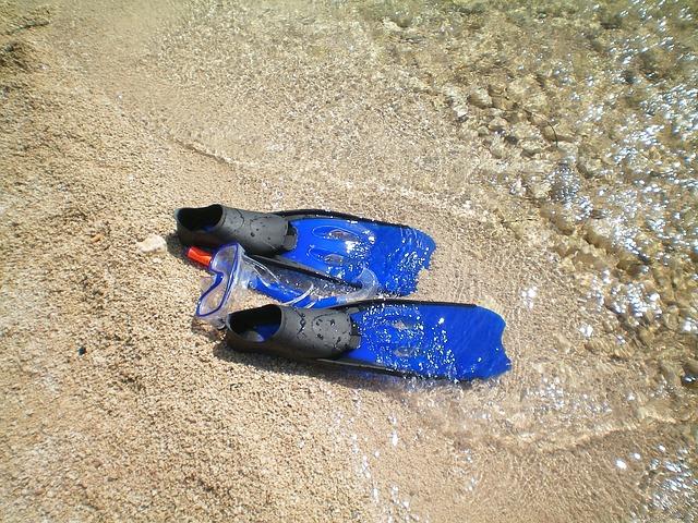 Echipament complet de snorkeling