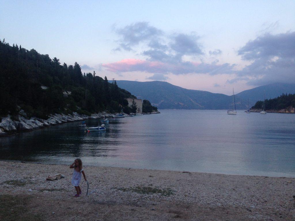 Apus în Kefalonia, Grecia