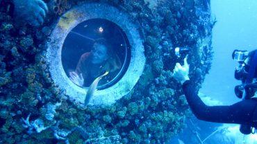 31 de zile sub apă făcând explorări subacvatice