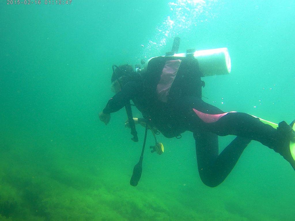 Explorare subacvatica in Marea Neagra