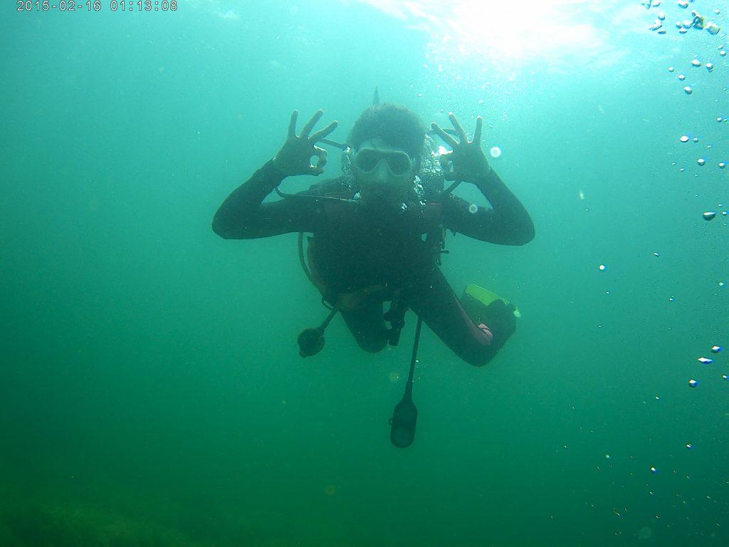 Scufundare subacvatica in Marea Neagra
