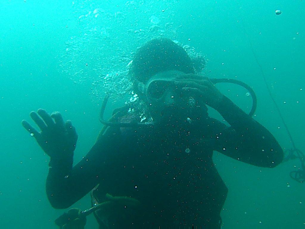 Explorare subacvatica la mica adancime