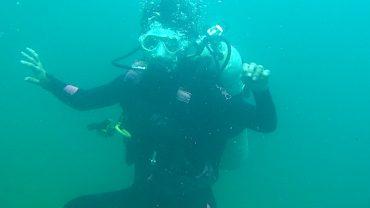 Prima scufundare în România