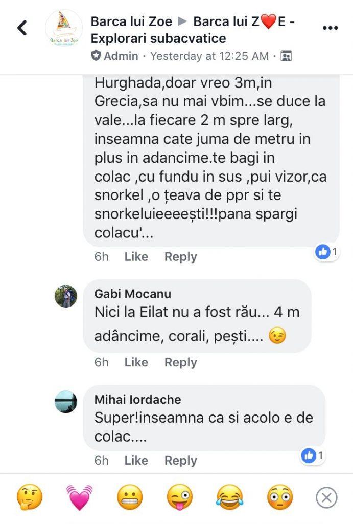 Comentarii pe Facebook