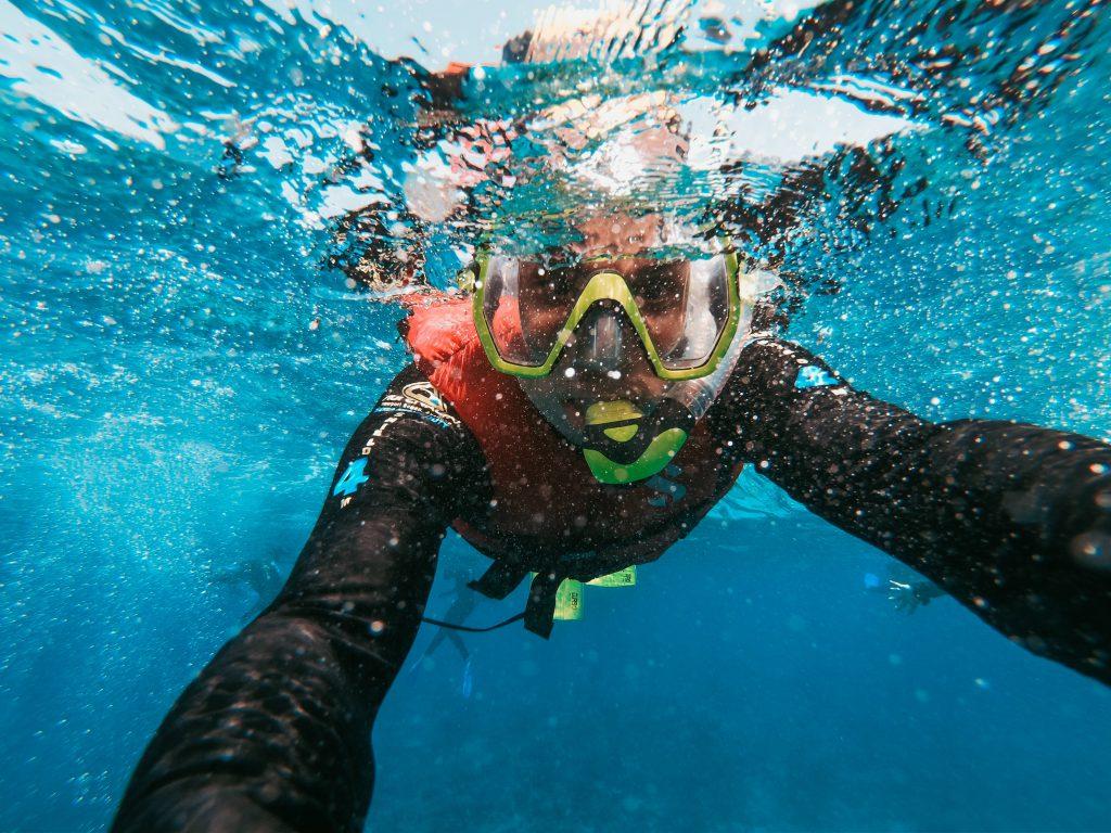 Echipamentul ideal pentru snorkeling